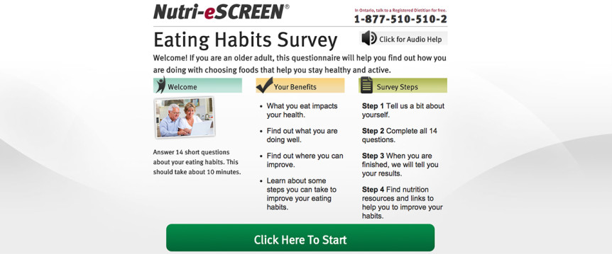 Nutri-eScreen Eating Habits Survey