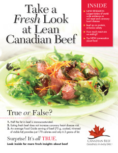 Canada Beef: Take a Fresh Look at Lean Canada Beef Newsletter