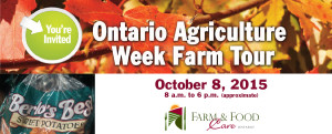 Ontario Agriculture Week Farm Tour