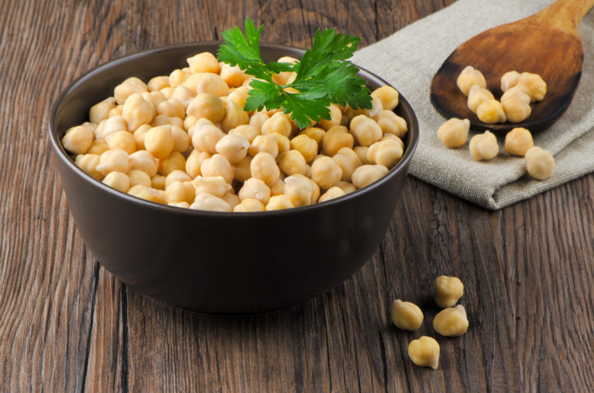 chickpeas, pulses, fibre, protein, school lunches