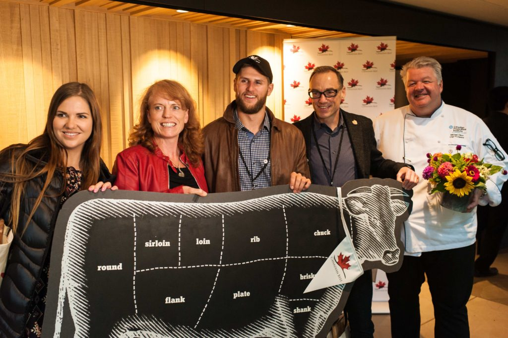Canada Beef Taste and Terroir Event photo with farmer
