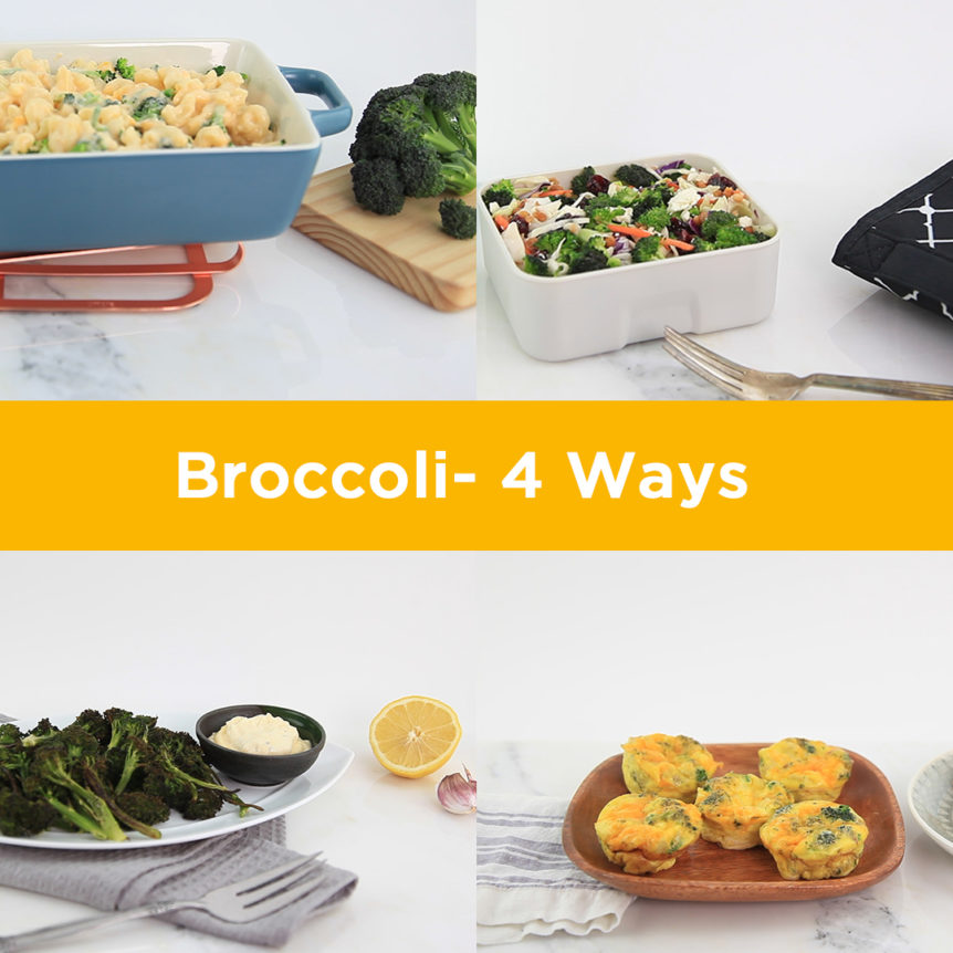 4 Ways with Broccoli