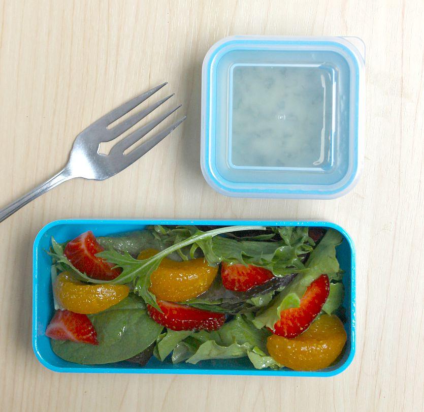 Tutti Frutti School Lunch Salad