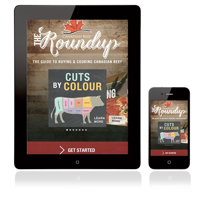 Canada Beef Taste and Terroir event the roundup app